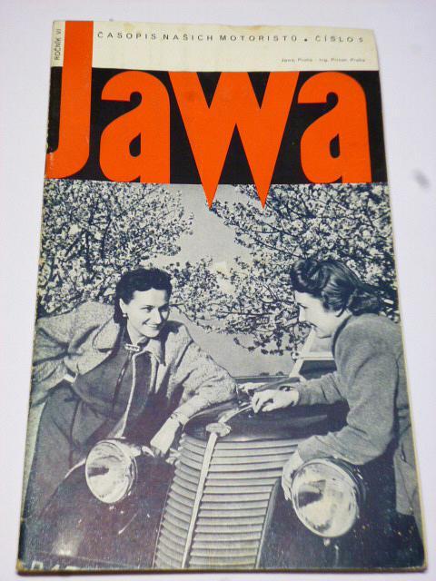 JAWA - časopis našich motoristů - 5/1939