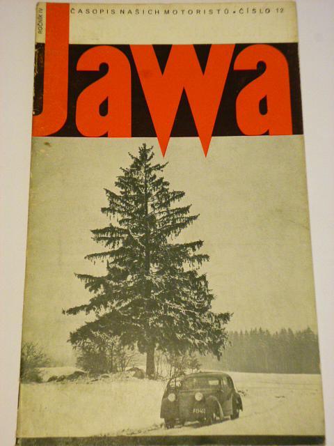 JAWA - časopis našich motoristů - 12/1937