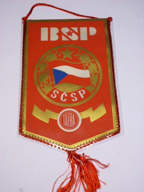Tatra - BSP - SČSP - vlaječka
