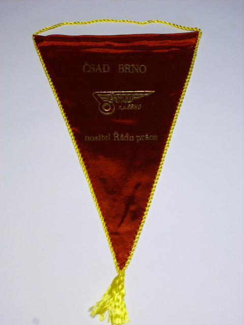 ČSAD Brno - 20 let Krajského podniku - 1963-1983 - vlaječka