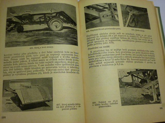 Rukověť pro traktoristy - Zdeněk Šteffl a kol. - 1960