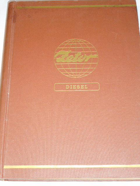 Zetor 25, 25 A, 25 K Diesel - katalog náhradních dílů traktorů - 1955