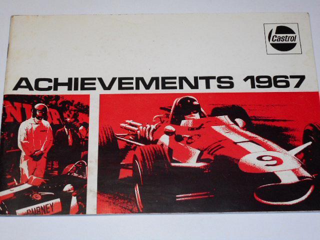 Castrol - Achievements 1967 - Mike Hailwood, Honda...