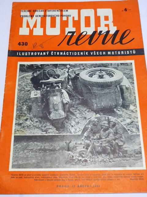 Motor Revue - 1942 - ročník XXI.,číslo 430 - BMW R 75 Sahara