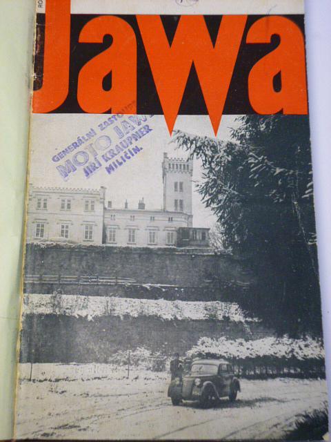JAWA - časopis našich motoristů 1938 - kompletní V. ročník