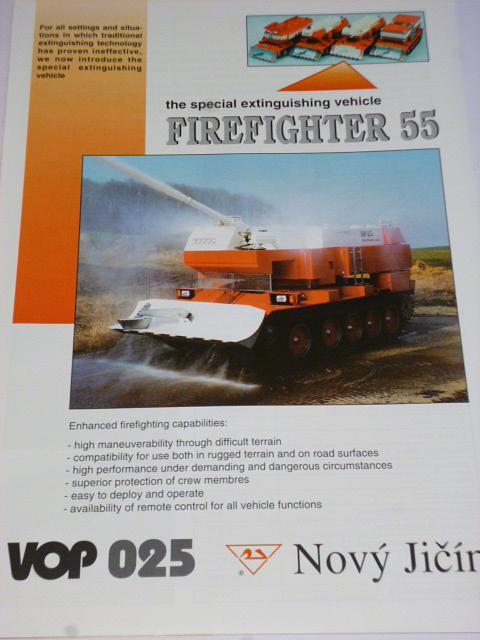 Firefighter 55 - VOP 025 Nový Jičín - prospekt