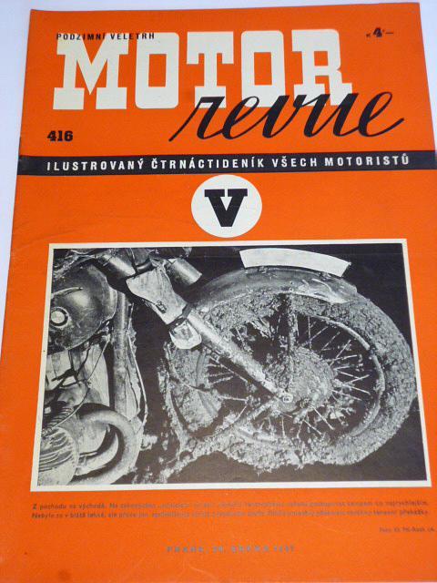 Motor Revue - 1941 - ročník XXI., číslo 416