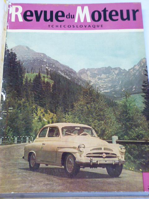 Revue du Moteur Tchecoslovaque - 1957