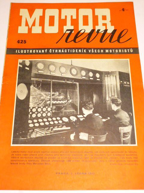Motor Revue - 1942 - ročník XXI., číslo 425