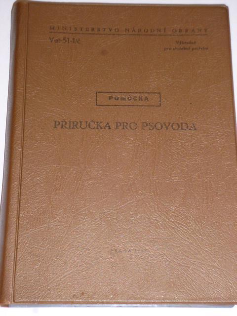 Příručka pro psovoda - 1977