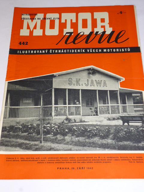 Motor Revue - 1942 - ročník XXII., číslo 442