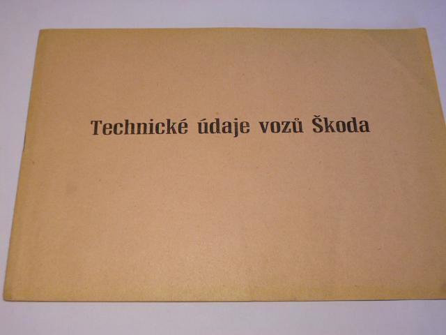 Technické údaje vozů Škoda - Octavia, Felicia, 1202