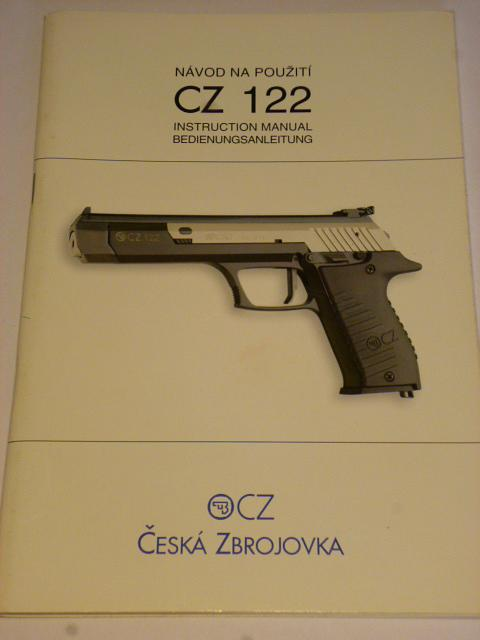 CZ 122 - návod na použití - 1997