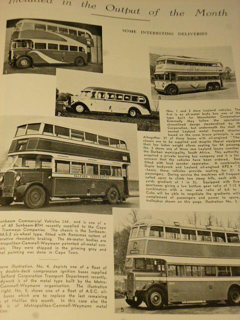 Passenger Transport Journal I. - 1939