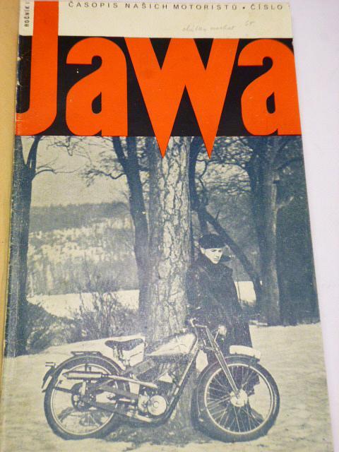 JAWA - časopis našich motoristů 1942 - kompletní IX. ročník