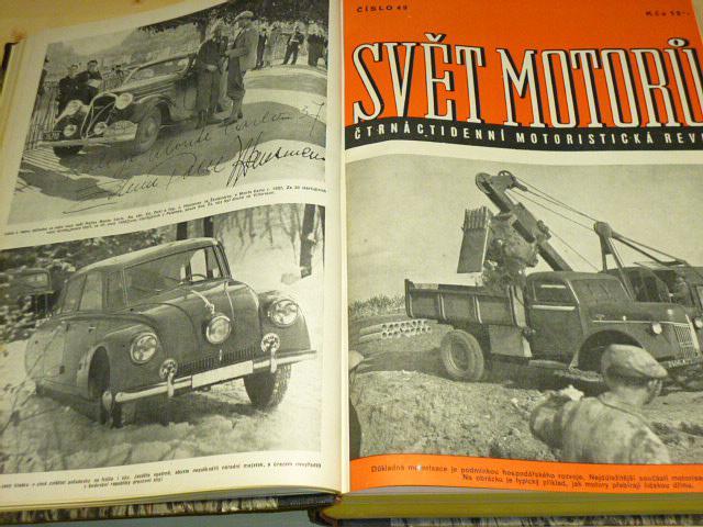 Svět motorů - 1949 - III. ročník - časopisy