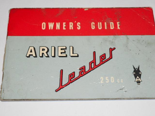 Ariel Leader 250 cc - Owner's guide - 1959