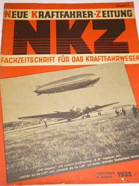 NKZ - Neue Kraftfahrer-Zeitung - 1935