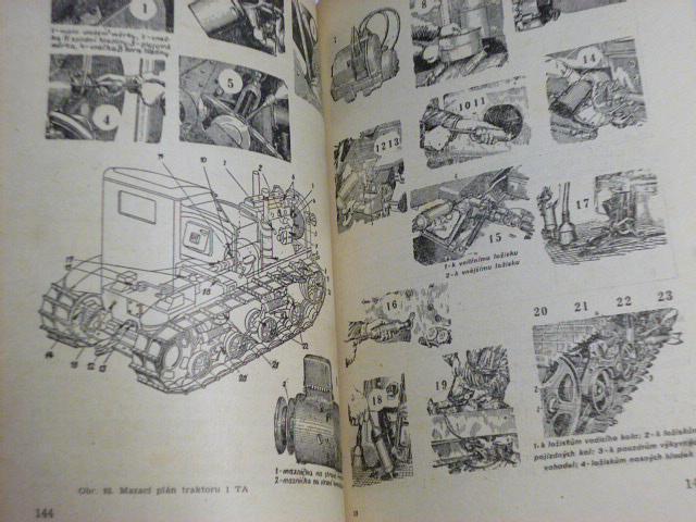Traktor ASCHTZ-NATI model 1 TA a DT-54 - 1951