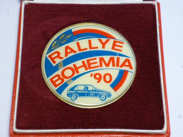 Rallye Bohemia 1990 - Škoda Favorit
