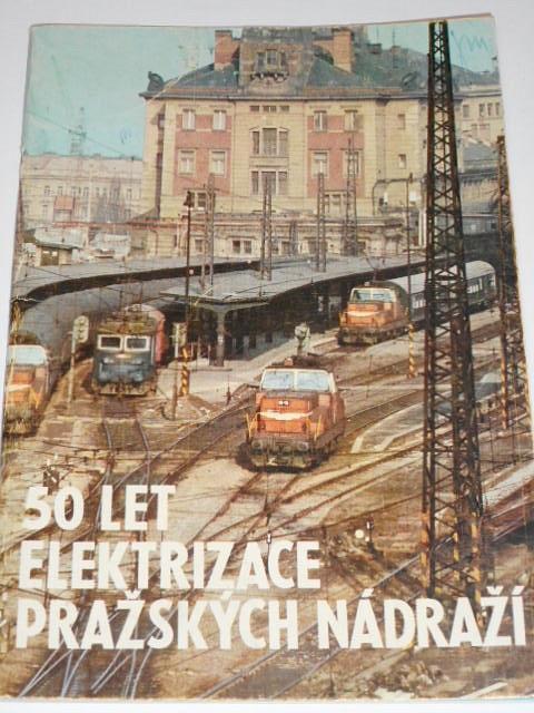 50 let elektrizace pražských nádraží - 1976