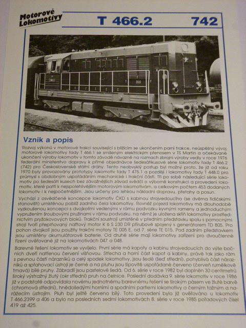Motorové lokomotivy 1 - Karel Sellner - 1993