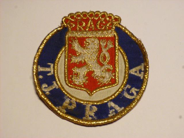 PRAGA - T. J. Praga - nášivka