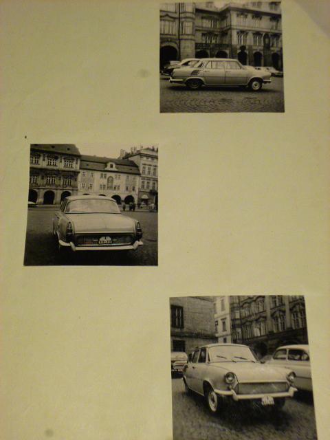 Škoda 1000 MB prototyp 1963 - fotografie