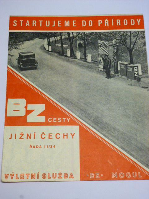 BZ - Mogul - Jižní Čechy - automapa - reklama