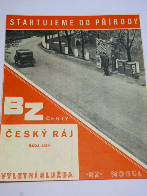 BZ - Mogul - Český ráj - automapa - reklama