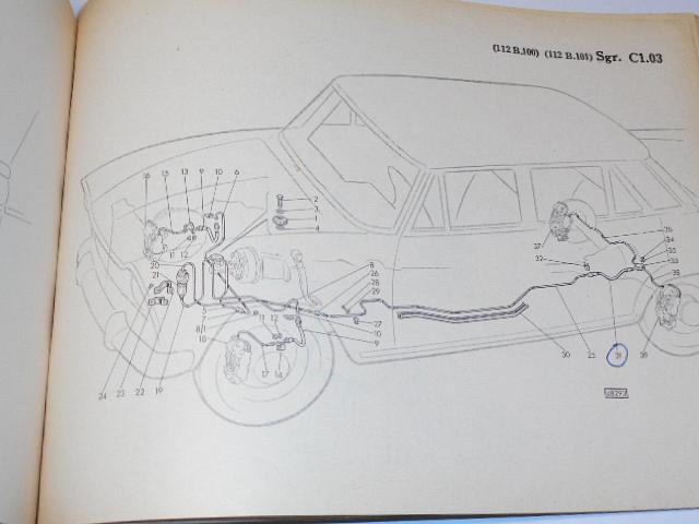 Fiat 1800 B - Catalogo parti di ricambio, catalogue de piéces détachées, Ersatzteilkatalog - 1965
