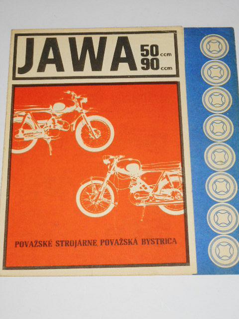 JAWA 50, JAWA 90 - prospekt - Považské strojárne, Považská Bystrica