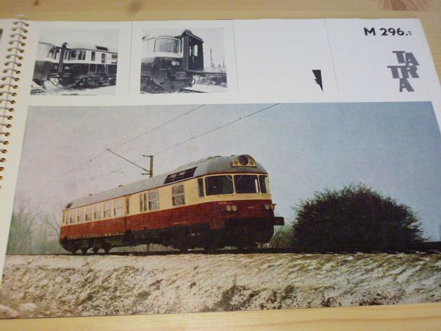 Vagónka Studénka n. p. ČSSR - Tatra - katalog 1970