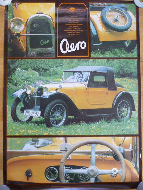 Aero 500 - plakát - 1981