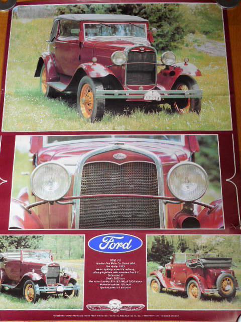 Ford V 8 - plakát - 1982