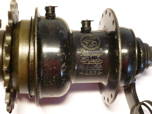 Fichtel a Sachs - Torpedo - Dreigang - 1942