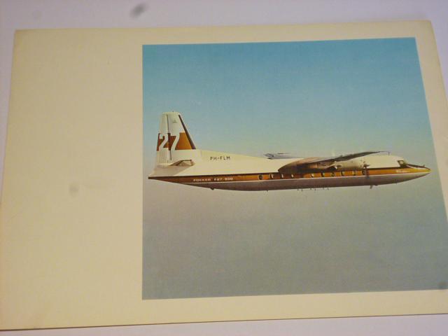 Fokker F 27-500 - leták bez textu