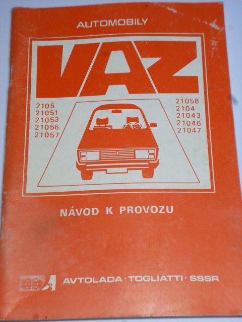 VAZ - 2105 - LADA - návod k provozu