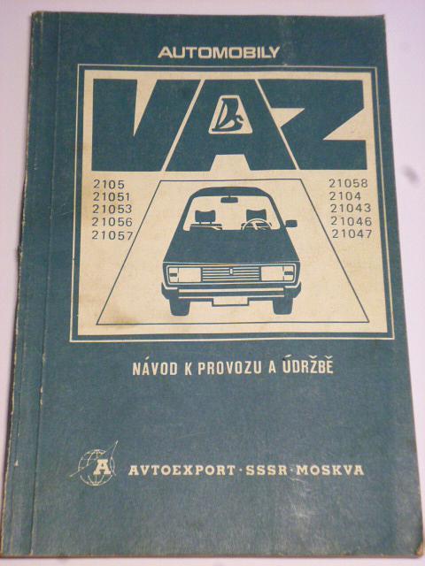 VAZ - 2105 - LADA - návod k provozu a údržbě