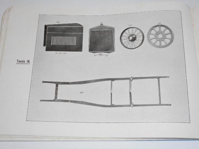 DIATTO - Catalogo Pezzi Ricambio per Tipi 20 e 20 A - 1926