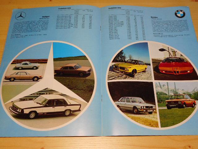Auto 1973 - Audi, Ford, Mercedes, BMW, Opel, VW - prospekt