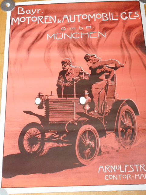 Bayr. Motoren a Automobil-ges München - plakát - 1981