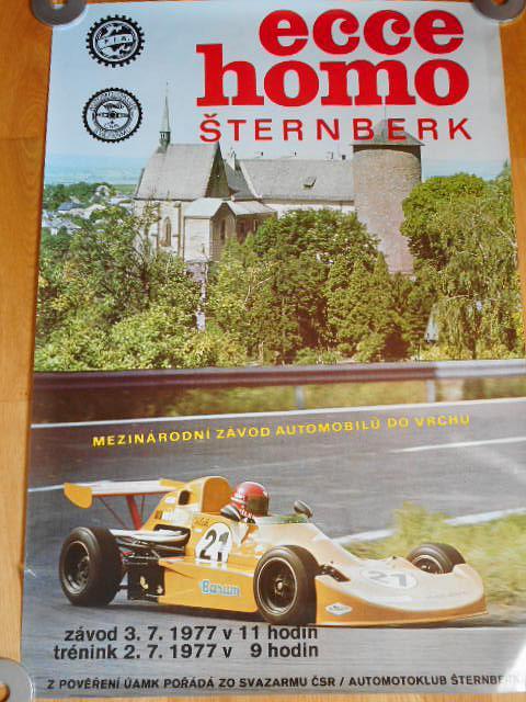 Ecce homo Šternberk - 3. září 1977 - plakát