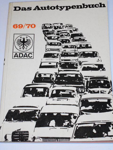 Das Autotypenbuch 69/70 ADAC - 1969