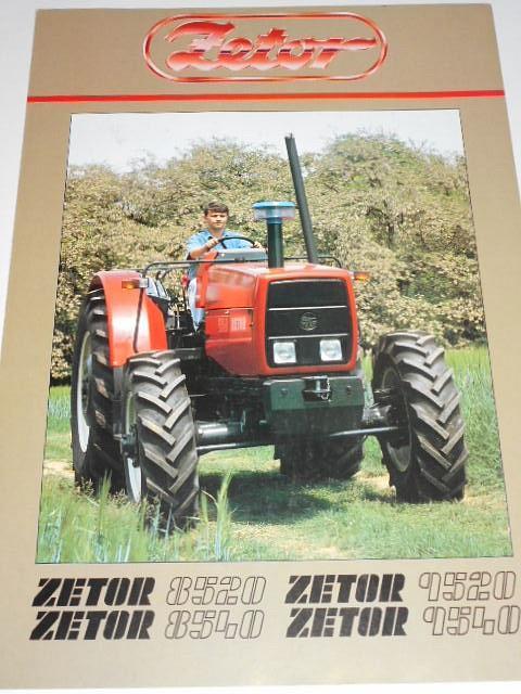 Zetor 8520, 8540, 9520, 9540 - prospekt