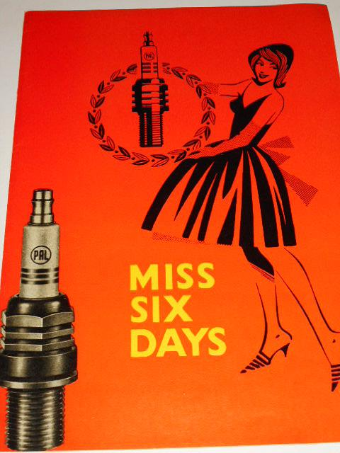 Pal - Miss Six Days - zapalovací svíčky - desky na prospekty