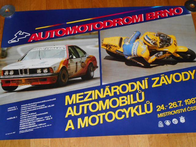 Automotodrom Brno - mezinárodní závody automobilů a mocyklů