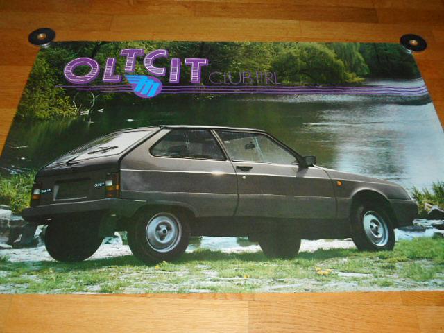 Oltcit Club 11 R - Mototechna - plakát - 1990