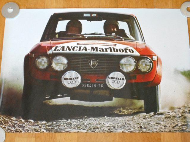 Lancia Campione del Mondo Rallies 1972 - plakát