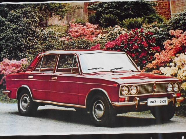VAZ 2103 - LADA - Mototechna - plakát